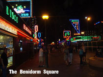 The Square in Benidorm