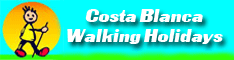 Costa Blanca Walking Holidays